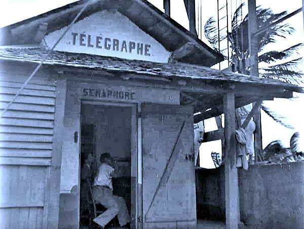 Shortwave Radio Station on Devil's Islan