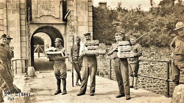 penfeld POW prisonnier german allemand curtiss HS troops sailor agamemnon US ship WWI war guerre 14 18 1914 1918 george lane silver spring maryland patrick milan finistere brest aberwrach