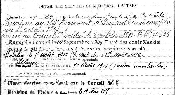 carval jacquesyves saint jean trolimon chagny 14-18 Finistère Non Mort France Réformé maladie tuberculose suicide fusillé accident