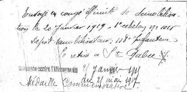 Jaouen Jean Marie Lampaul ploudalmezeau patrick milan anne appriou guerre 1914 1917 14 18 patrimoine histoire plouguin finistere
