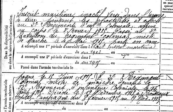 kergroach joseph crozn villenave ornon 14-18 Finistère Non Mort France Réformé maladie tuberculose suicide fusillé accident