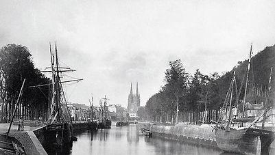 Le port de Quimper 1870.jpg