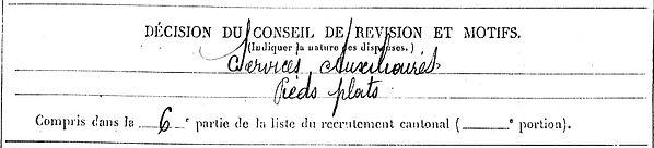 riou rene combrit quimper poudrerie pont buis 14-18 Finistère Non Mort France Réformé maladie tuberculose suicide fusillé accident