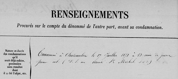 Kergoat Jean Guillaume cleden cap izun chateaulin louarn bagne guyane bagnard finistere