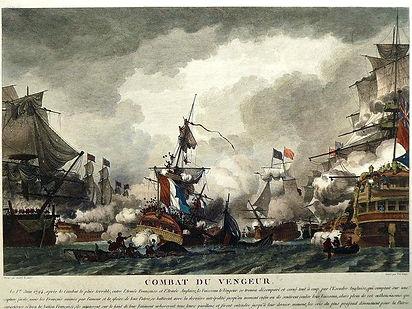 Ozanne-le-Jeune-Combat-du-Vengeur-1781-1