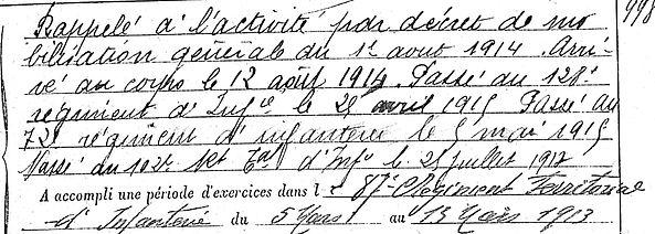 crenn jean louis plouzevede meldeuses isles terroir 14-18 Finistère Non Mort France Réformé maladie tuberculose suicide fusillé accident