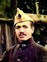 Saik Le Borgne françois finistere poilu ploudalmezeau landunvez plouguin guerre 1914 1918 14 18 patrick milan patrimoine histoire