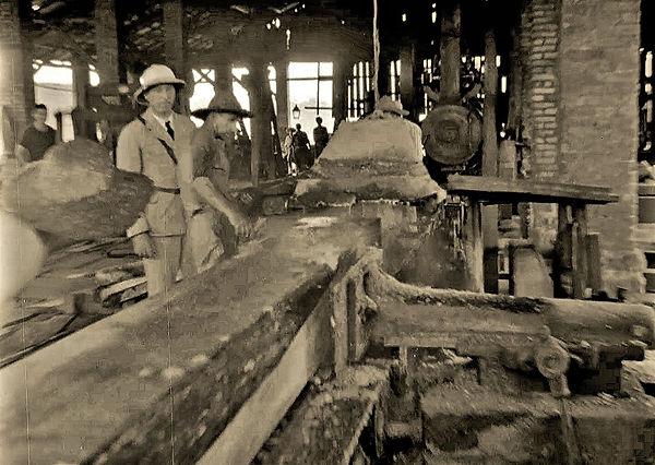 Saw mill on Devil's Island - 1939.jpg