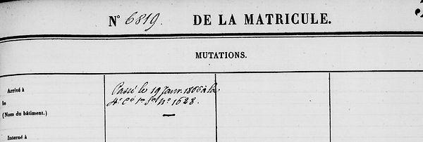 Léon Pierre le coz guerlesquin finistere bagne guyane bagnard