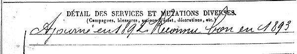 miorcec jean marie treflez brest 14-18 Finistère Non Mort France Réformé maladie tuberculose suicide fusillé accident