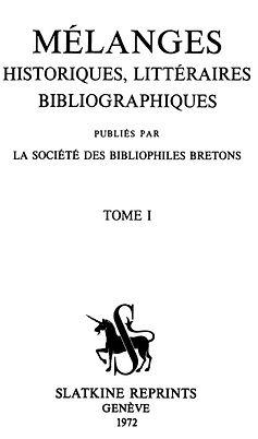 Mélanges Historiques Litttéraires.jpg