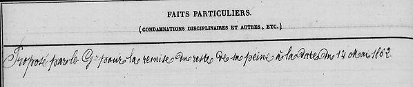 Besnier Auguste Laurent Charles kermel brest modene bagne guyane cayenne bagnard