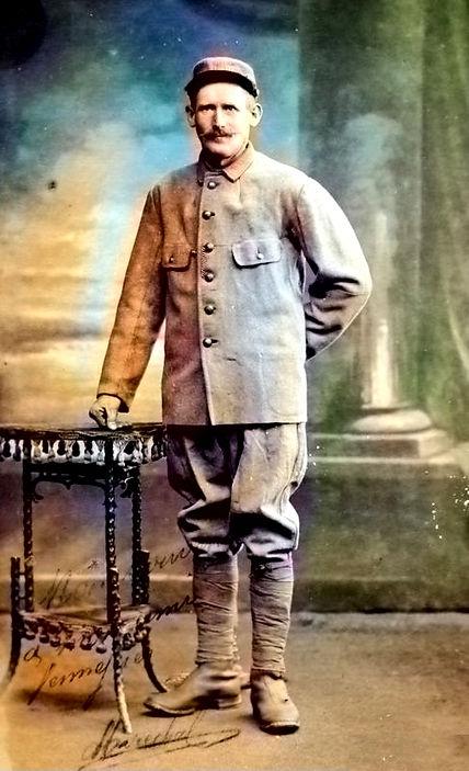 prisonnier treouergat finistere patrimoine plouguin histoire guerre 14 18 1914 1918 patrick milan Venneuguèsamarade_E_Marechal.jpg