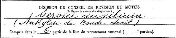 menguy ignace marie plouigneau hérouville 14-18 Finistère Non Mort France Réformé maladie tuberculose suicide fusillé accident