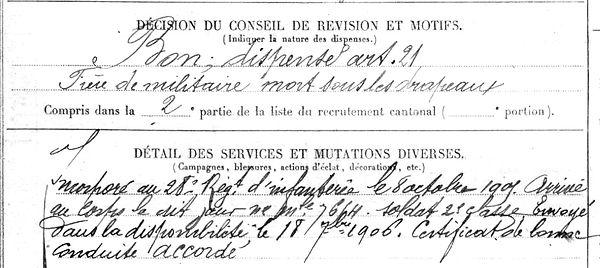 seznec jean marie plomodiern dineault 14-18 Finistère Non Mort France Réformé maladie tuberculose suicide fusillé accident
