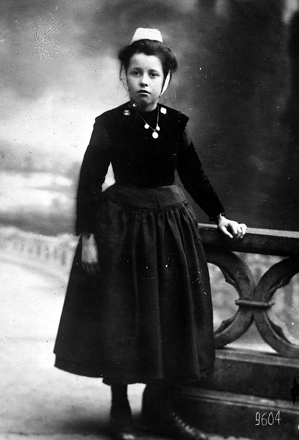marie le gars quemeneven Adopte orphelin finistere guerre 14 18 1914 1918 américain