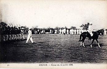 Zinder - Revue du 14 Juillet 1916