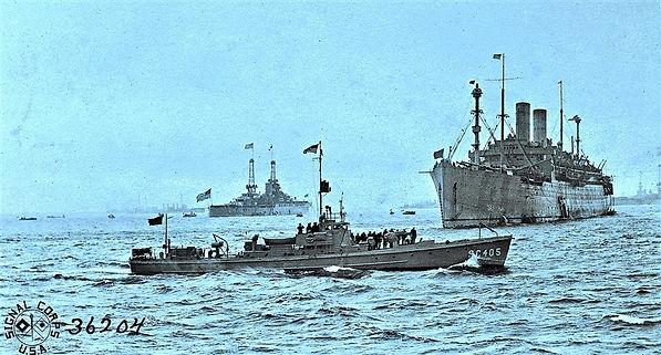washington president wilson US ship WWI war guerre 14 18 1914 1918 george lane silver spring maryland patrick milan finistere brest
