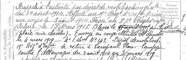 Déniel yves Marie deniel Lampaul ploudalmezeau patrick milan anne appriou guerre 1914 1917 14 18 patrimoine histoire plouguin finistere