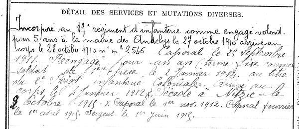 marzin jean marie lanildut mitzic gabon 14-18 Finistère Non Mort France Réformé maladie tuberculose suicide fusillé accident