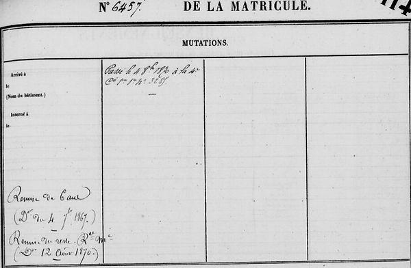 Amon Louis saint fregant cadiou cayenne bagne guyane bagnard