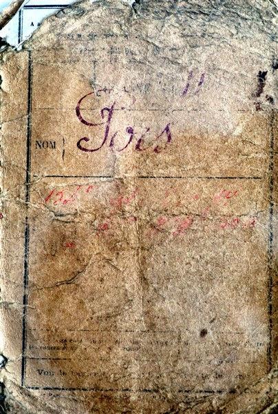 livret individuel pors prigent marie plouguin 14-18 Finistère berry bac plouguin mort france 1917