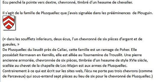 Heaume blason Ploudalmézeau Finistère tourisme randonnée sortie balade promenade loisir histoire patrimoine plouguin tréglonou saint-pabu découverte vacances circuit bretagne