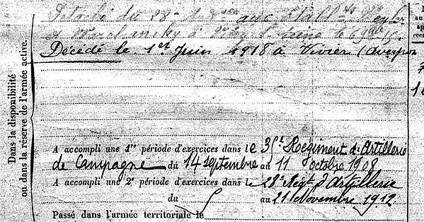 dubois jean baptiste marie ile tudy viviez usine zinc 14-18 Finistère Non Mort France Réformé maladie tuberculose suicide fusillé accident