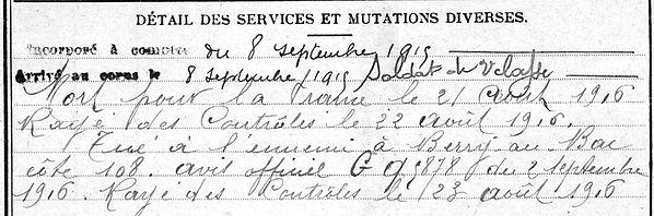 Marechal Alain Ploneour Lanvern Guerre 1914 1918 14-18 Finistère Finistérien Mort pour la France Berry au Bac cote 108 Sapigneul Choléra Moscou Mauchamp