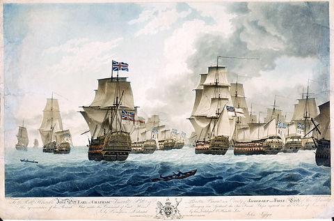 Les vaisseaux français capturés lors du