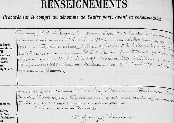 Le Pober Alain Louis Marie pont abbé coic cayenne bagne guyane bagnard finistere