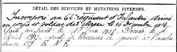 Forest François Marie Lampaul ploudalmezeau patrick milan anne appriou guerre 1914 1917 14 18 patrimoine histoire plouguin finistere