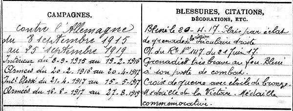 majean terrom lucienne gilbert quivouron plouguin patrimoine histoire patrick milan guerre 14 18 1914 1918 finistere