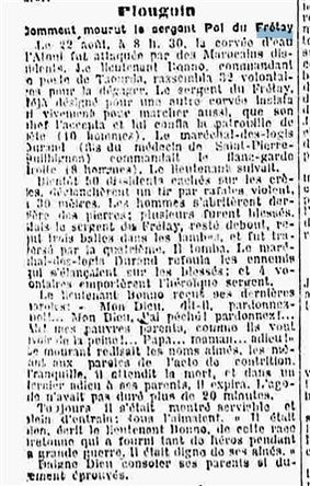 Plouguin Patrimoine Histoire Pol Halna Du Frétay Lesven