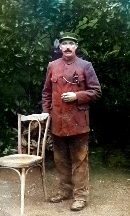 raguenes françois pierre loc brevalaire gouesnou prisonnier treouergat finistere patrimoine plouguin histoire guerre 14 18 1914 1918 patrick milan Venneuguès