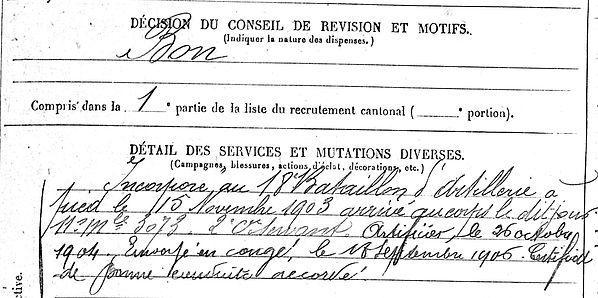 sclear yves marie la forest landerneau mailly quimper 14-18 Finistère Non Mort France Réformé maladie tuberculose suicide fusillé accident
