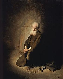 St Pierre en Prison - Rembrant van Rijn.