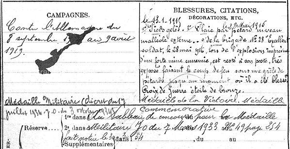 lhostis l'hostis françois marie antoine claude plouguin patrimoine histoire guerre 14 18 1914 1918 finistere patrick milan