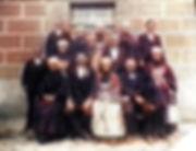 mariage lenvec-lannuzel 1910- Colorized.