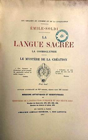 Emile Soldi La langue Sacrée.jpg