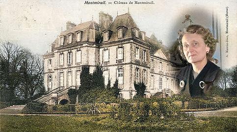 Duchesse-de-La-Rochefoucauld-Carte posta