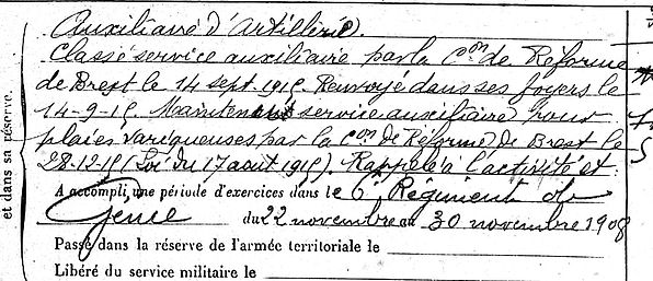 Arzel François Joseph Lampaul ploudalmezeau patrick milan anne appriou guerre 1914 1917 14 18 patrimoine histoire plouguin finistere