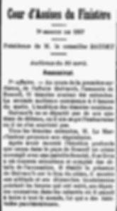 Guivarch Pierre Marie plouzevede deniel saint pol leon bagne guyane bagnard finistere