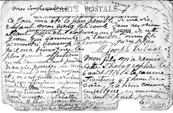 Joseph Trébaol edouard plouguin patrimoine histoire guerre 14 18 1914 1918 patrick milan