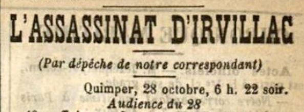L'assasinat d'Irvillac _ audience du 28.