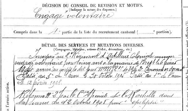 roudaut adolphe françois bres lambezellec 14-18 Finistère Non Mort France Réformé maladie tuberculose suicide fusillé accident