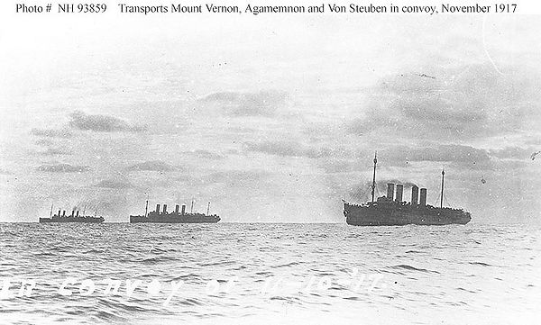 agamemnon US ship WWI war guerre 14 18 1914 1918 george lane silver spring maryland patrick milan finistere brest aberwrach