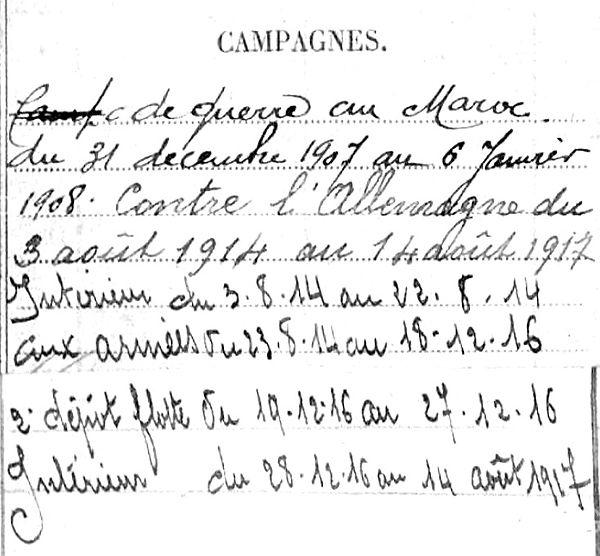 olivier eugène marie guilvinec cloyes loir maroc 14-18 Finistère Non Mort France Réformé maladie tuberculose suicide fusillé accident
