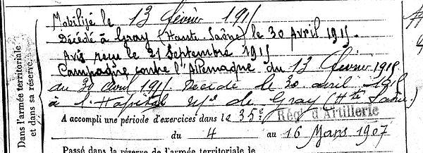 cornec gabriel jerome plogastel saint germaingray 14-18 Finistère Non Mort France Réformé maladie tuberculose suicide fusillé accident