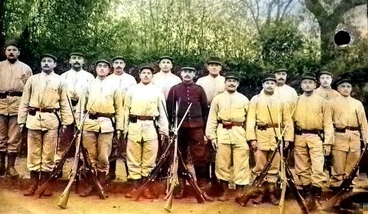 calvarin françois yves hamon patrick milan treouergat treglonou guerre 1914 14 18 plouguin patrimoine histoire